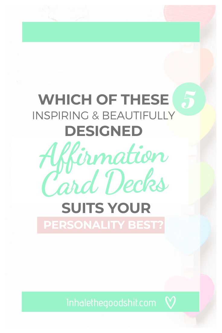 Best affirmation card decks 2020