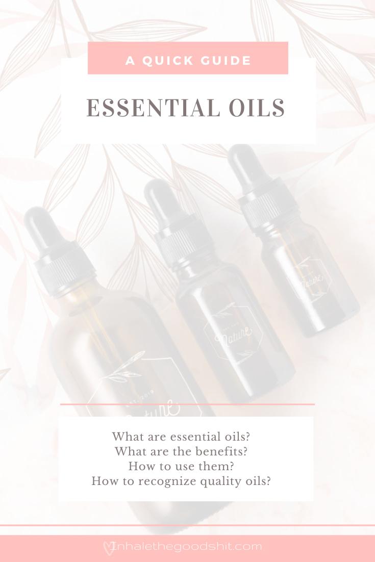 Essential Oils - Inhale The Good Shit